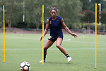 CARY, NC - JULY 27: Darian Jenkins. The North Carolina Courage held a training session on July 27, 2017, at WakeMed Soccer Park Field 7 in Cary, NC.