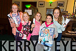 Emma Dewey, Eimear Ni Houlihan, Winnie Burke, Clodagh O'Connor, Mary O'Connell. enjoying   the Na Gaeil Race night on Saturday