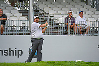 Shane Lowry (IRL) watches his tee shot on 13 during Rd3 of the 2019 BMW Championship, Medinah Golf Club, Chicago, Illinois, USA. 8/17/2019.<br /> Picture Ken Murray / Golffile.ie<br /> <br /> All photo usage must carry mandatory copyright credit (© Golffile   Ken Murray)