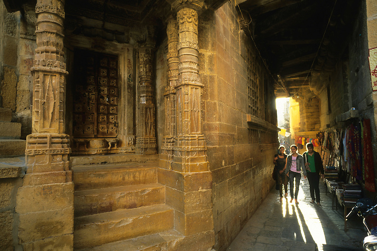 By the Jain temples, Jaisalmer, Rajasthan, India, 2011