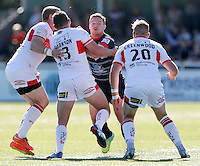 Mark Offerdahl in action for London during the Super 8 Qualifying game between London Broncos and Hull KR at Ealing Trailfinders, Ealing, on Sun Sept 11, 2016