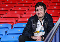 Bolton Wanderers supporters enjoying the pre-match atmosphere <br /> <br /> Photographer Andrew Kearns/CameraSport<br /> <br /> The EFL Sky Bet Championship - Bolton Wanderers v Norwich City - Saturday 16th February 2019 - University of Bolton Stadium - Bolton<br /> <br /> World Copyright © 2019 CameraSport. All rights reserved. 43 Linden Ave. Countesthorpe. Leicester. England. LE8 5PG - Tel: +44 (0) 116 277 4147 - admin@camerasport.com - www.camerasport.com