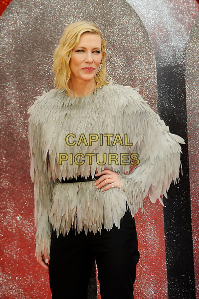 LONDON, ENGLAND - JUNE 13: Cate Blanchett attending 'Ocean's 8' UK Premiere at Cineworld, Leicester Square on June 13, 2018 in London, England.<br /> CAP/MAR<br /> &copy;MAR/Capital Pictures