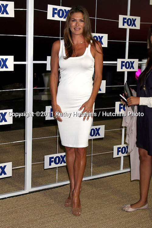 LOS ANGELES - AUG 5:  Paige Turco arriving at the FOX TCA Summer 2011 Party at Gladstones on August 5, 2011 in Santa Monica, CA
