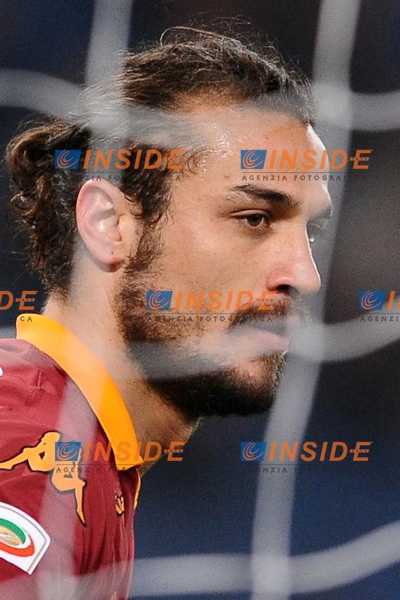 Daniel Pablo Osvaldo Roma..03/03/2013 Roma.Stadio Olimpico.Football Calcio 2012 / 2013 .Campionato di Calcio Serie A.Roma vs Genoa 3-1.Foto Insidefoto / Antonietta Baldassarre.