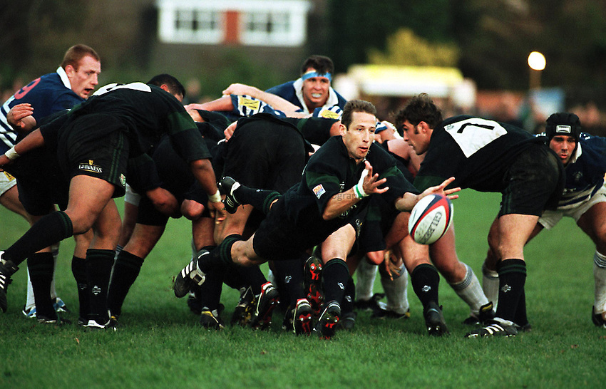 Photo. Richard Lane.London Irish v Sale. 07/11/1998..Kevin Putt.