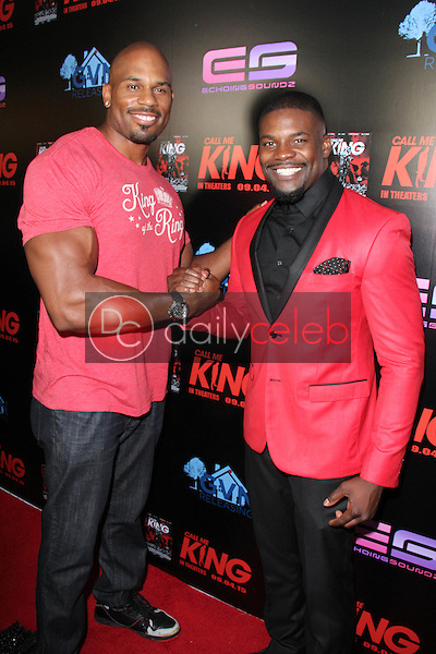 """Shad Gaspard, Amin Joseph<br /> at the """"Call Me King"""" Screening, Downtown Independent, Los Angeles, CA 08-17-15<br /> David Edwards/Dailyceleb.com 818-249-4998"""