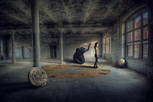 Photo manipulated art