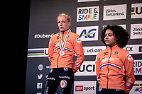 A dissapointed Annemarie Worst (NED) after finishing 2nd place. <br /> <br /> Women's Elite Race<br /> UCI 2020 Cyclocross World Championships<br /> Dübendorf / Switzerland<br /> <br /> ©kramon