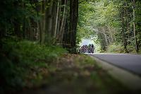 peloton approaching<br /> <br /> GP Impanis 2014