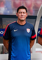 Martin Vasquez.  The United States defeated El Salvador, 5-1, during the quarterfinals of the CONCACAF Gold Cup at M&T Bank Stadium in Baltimore, MD.