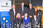 INNOVATE KERRY: Launching the Innovate Kerry by the Kerry County development board at the Solas Building I.T. Tralee on Tuesday seated l-r: Maeve Townsend, Noreen O'Mahony and Breda O'Dwyer. Back l-r: Murty O'Donoghue, Patrick O'Connor-Scarteen, Tomás Hayes and Melanie Harty.