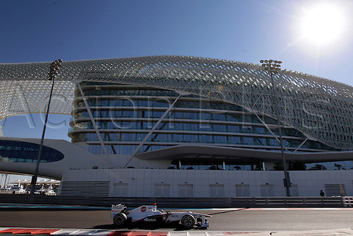 11.11.2011 Abu Dhabi, United Arab Emirates.  Motorsports: FIA Formula One World Championship 2011, Grand Prix of Abu Dhabi, 16 Kamui Kobayashi (JPN, Sauber F1 Team), during the practice day of the FIA Formula One Grand Prix of Abu Dhabi UAE.