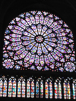 Rose Window, Notre Dame, Paris