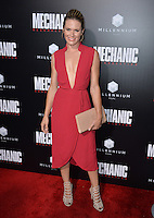 LOS ANGELES, CA. August 22, 2016: Actress Lauren Shaw at the Los Angeles premiere of &quot;Mechanic: Resurrection&quot; at the Arclight Theatre, Hollywood.<br /> Picture: Paul Smith / Featureflash
