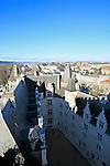 20080110 - France - Aquitaine - Pau<br /> VUES DEPUIS LE CHATEAU DE PAU SUR LA VILLE, LE GAVE ET LES PYRENEES.<br /> Ref : PAU_045.jpg - © Philippe Noisette.