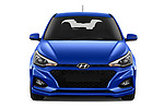 Car photography straight front view of a 2019 Hyundai i20 Twist 5 Door Hatchback