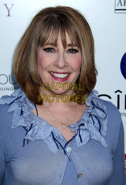 Phyllis Logan<br /> An Evening With &quot;Downton Abbey&quot; held at Leonard H. Goldenson Theatre, North Hollywood, California, USA.<br /> June 10th, 2013<br /> headshot portrait blue ruffle <br /> CAP/ADM/RE<br /> &copy;Russ Elliot/AdMedia/Capital Pictures