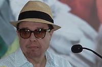 RIO DE JANEIRO, RJ, 17.03.2014 - Sergio Mendes  particip nesta segunda-feira na coletiva de imprensa que apresenta o lançamento do filme de animação Rio 2, no Parque Lage, zona sul da cidade. (Foto. Néstor J. Beremblum / Brazil Photo Press)