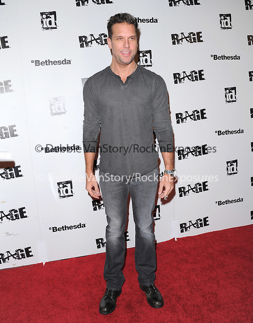 Dane Cook attends the official launch party for the most anticipated video game of the year RAGE in ChinaTown in Los Angeles, California on September 30,2011                                                                               © 2011 Hollywood Press Agency