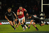 during the 2017 DHL Lions Series rugby union match between the NZ Maori and British & Irish Lions at Rotorua International Stadium in Rotorua, New Zealand on Saturday, 17 June 2017. Photo: Dave Lintott / lintottphoto.co.nz