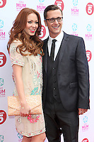 Natasha Hamilton and Ritchie Neville arriving at the Tesco Mum Of The Year Awards 2014, at The Savoy, London. 23/02/2014 Picture by: Alexandra Glen / Featureflash