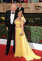 www.acepixs.com<br /> <br /> January 29 2017, LA<br /> <br /> Salma Hayek and John Lithgow arriving at the 23rd Annual Screen Actors Guild Awards at The Shrine Expo Hall on January 29, 2017 in Los Angeles, California<br /> <br /> By Line: Peter West/ACE Pictures<br /> <br /> <br /> ACE Pictures Inc<br /> Tel: 6467670430<br /> Email: info@acepixs.com<br /> www.acepixs.com