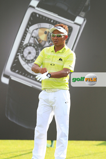 Thongchai Jaidee (THA) on the 11th tee during Round 3 of the Maybank Malaysian Open at the Kuala Lumpur Golf &amp; Country Club on Saturday 7th February 2015.<br /> Picture:  Thos Caffrey / www.golffile.ie
