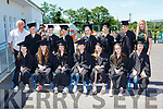 Sixth class from St Josephs NS Castlemaine at their Graduation in the school on Sunday front row l-r: Caitlin Barton, Megan Flynn-Connolly, Kaya Somers, sinead Nagle, Aoife Hickey, Kayleigh O'Sullivan and Jack Teahan. Back row:  Brendan Dennehy, Charlie McGillicuddy, Shane O'Connor, Evan O'connor, Eoin Ladden, Sabastian Stolarz and Jack Lawlor