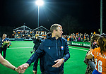 BLOEMENDAAL  - Hockey -  finale KNHB Gold Cup dames, Bloemendaal-HDM (1-1) . Bloemendaal wint na shoot outs.  coach Teun de Nooijer (Bldaal) . COPYRIGHT KOEN SUYK