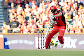 8th January 2018, The WACA, Perth, Australia; Australian Big Bash Cricket, Perth Scorchers versus Melbourne Renegades; Cameron White of the Melbourne Renegades plays through the gully region during his innings