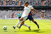 9th September 2017, Santiago Bernabeu, Madrid, Spain; La Liga football, Real Madrid versus Levante; Theo Hernandez (15) of Real Madrid