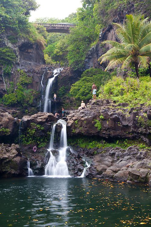 Oheo Gulch, Haleakala National Park, Maui, Hawaii