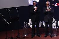 SÃO PAULO, SP, 27.11.2016 - TEMER-SP. O deputado estadual Fernando Capez e o Ministro da Justiça Alexandre de Moraes durante a abertura do Congresso da Diáspora Libanesa, no Palácio dos Bandeirantes, na tarde deste domingo, 27.(Foto: Adriana Spaca/Brazil Photo Press)