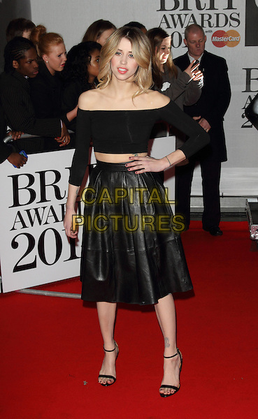LONDON, ENGLAND - FEBRUARY 19: Peaches Geldof attends The BRIT Awards 2014 at 02 Arena on February 19, 2014 in London, England<br /> CAP/ROS<br /> &copy;Steve Ross/Capital Pictures