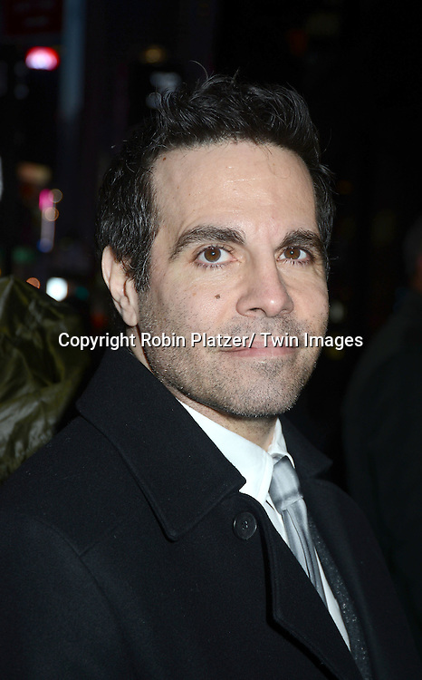 Mario Cantone attends Rogers +  Hammerstein's Cinderella Broadway Opening night on March 3, 2013 at the Broadway Theatre in New York City.