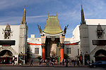 famous cinema Grauman's Chinese Theatre in Hollywood, Los Angeles, California, United States of America, USA
