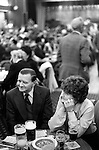Working Mens Club Coventry. Uk 1980s Britain. ..