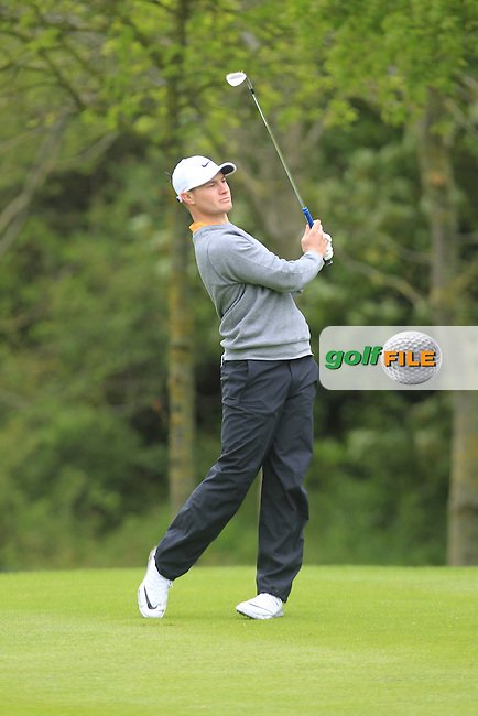Oliver Fisher (ENG) during Thursday's Round 1 ahead of the 2016 Dubai Duty Free Irish Open Hosted by The Rory Foundation which is played at the K Club Golf Resort, Straffan, Co. Kildare, Ireland. 19/05/2016. Picture Golffile   TJ Caffrey.<br /> <br /> All photo usage must display a mandatory copyright credit as: &copy; Golffile   TJ Caffrey.