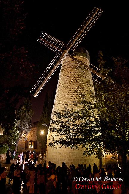 Montefiore Windmill at Night