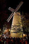 Montefiore Windmill at Night