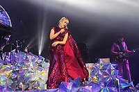 BRIGHTON, ENGLAND - MARCH 12: Paloma Faith performing at Brighton Centre on March 12, 2018 in Brighton, England.<br /> CAP/MAR<br /> &copy;MAR/Capital Pictures /MediaPunch ***NORTH AND SOUTH AMERICAS ONLY***