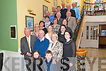 Barry and Madeleine Walsh from Millstreet celebrated their 40th Wedding Anniversary surrounded by friends and family last Sunday afternoon in the Dromhall Hotel, Killarney.