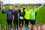 Edel Broderick, Zach Brosnan, Betty Brosnan, largh stevens, Jesse Brosnan at the Kerins O'Rahilly's '1916' 10k Run on Sunday