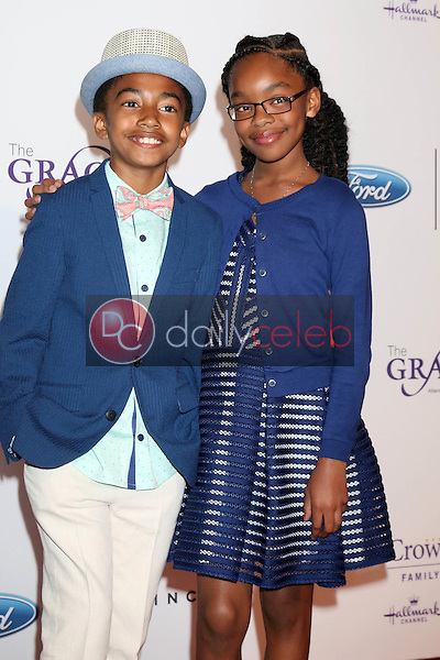 Miles Brown, Marsai Martin<br /> at the 41st Annual Gracie Awards Gala, Beverly Wilshire Hotel, Beverly Hills, CA 05-24-16<br /> David Edwards/DailyCeleb.com 818-249-4998