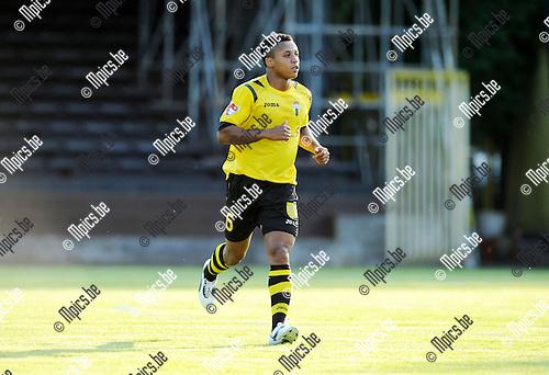 2013-07-09 / Voetbal / seizoen 2013-2014 / Berchem Sport - R. Antwerp FC / Agyeman Dickson<br /><br />Foto: Mpics.be