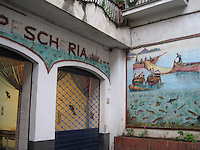 Old Pescheria & ceramic tiles, Amalfi
