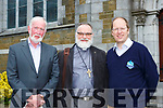 Tom Blennerhasset, Rev Simon Lumby and Andrew Eadie at Killarney Soprano Mary Culloty O'Sullivan  concert in St Mary's church Killarney on Friday night