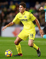 Villarreal CF's Rodrigo Hernandez during La Liga match. December 10,2017. (ALTERPHOTOS/Acero)<br /> Liga Campionato Spagna 2017/2018<br /> Foto Alterphotos / Insidefoto <br /> ITALY ONLY