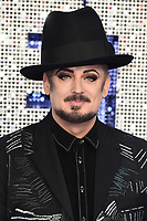 "LONDON, UK. May 20, 2019: Boy George arriving for the ""Rocketman"" UK premiere in Leicester Square, London.<br /> Picture: Steve Vas/Featureflash"